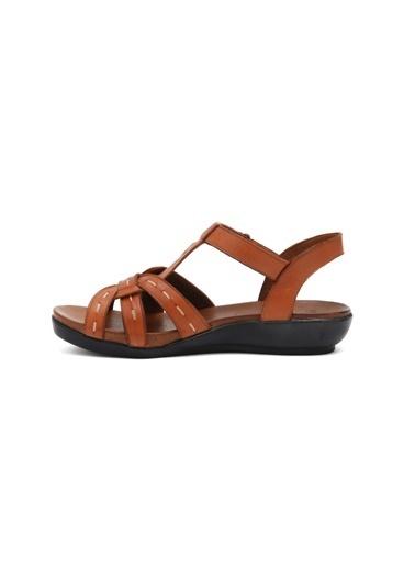 Beta Deri Sandalet Taba